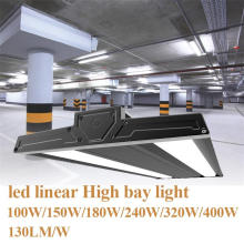 100W Rectangle Linear Led Low Bay Iluminação